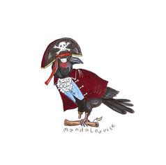 Day 5 - Pirate Raven