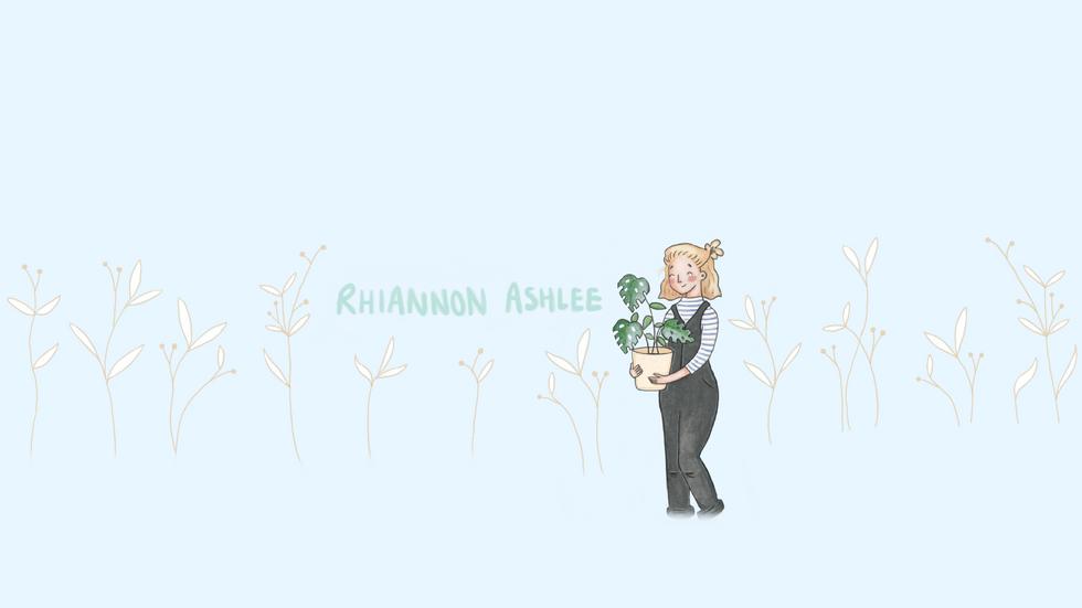 Rhiannon Ashlee Youtube Main Banner