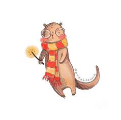 Day 9 - Harry Potter otter