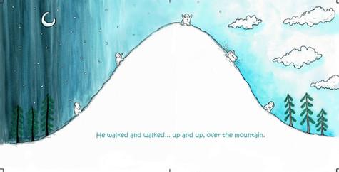 The curious little snow boy, pg 11 & 12