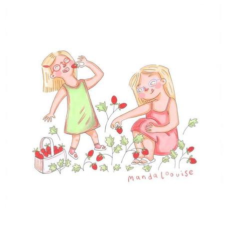 Day 2- Picking Strawberries