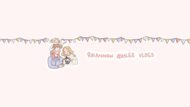 Rhiannon Ashlee Youtube Vlog Channel Banner