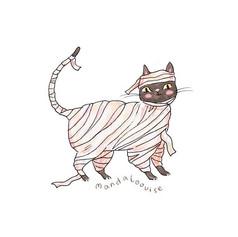 Day 1 - Cat Mummy