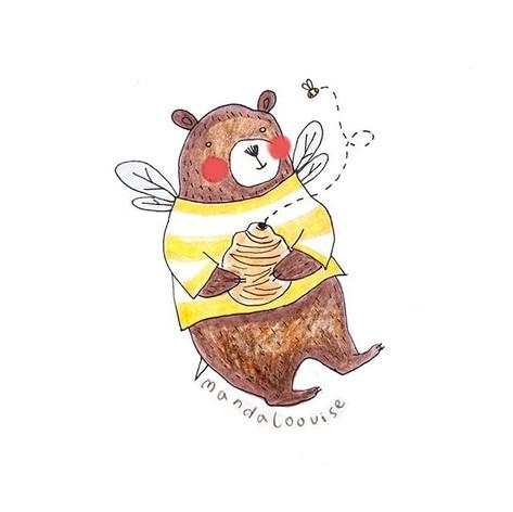 Day 11 - Honey Bee Bear