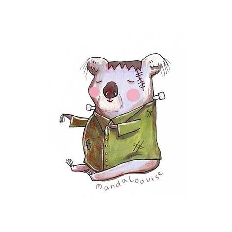 Day 4 - Frankenstein Koala