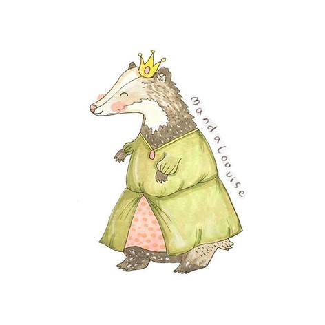 Day 18 - Princess Badger