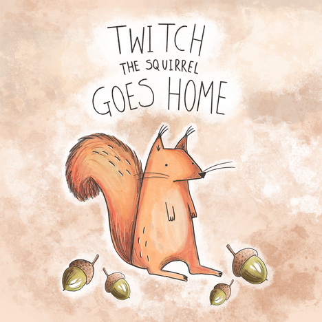 Twitch the squirrel goes home