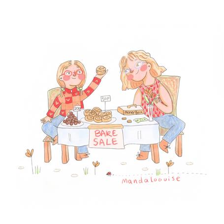 Day 4 - Bake Sale