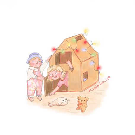 Day 6 - Cardboard House