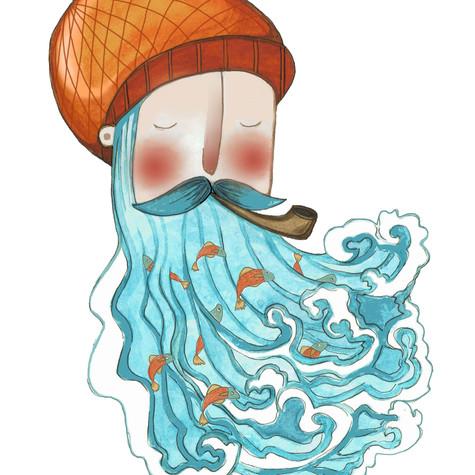 Sea Beard Man