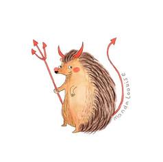 Day 25 - Hedgehog Devil