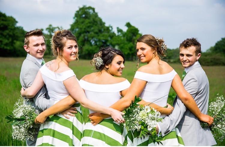 bridesmaids hair and make up