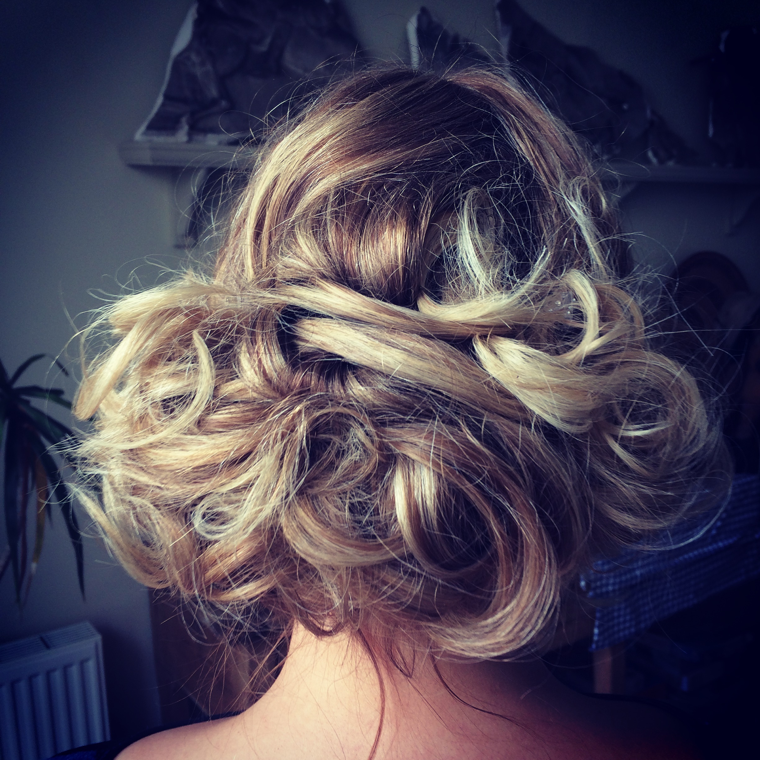 Katy bridal hair