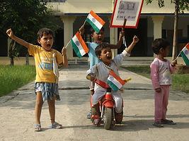 Playtime and fun learning, female education, girls school, Lucknow, Bakshi ka Talab, Kindergarten