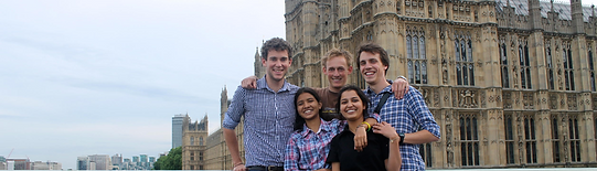 Teachers and Students on an exchange scheme in London at the Houses of Parliament | Lawrence Homan Public School