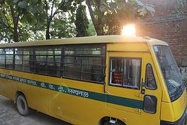 School Bus at Lawrence Homan Public School, Bakshi ka Talab