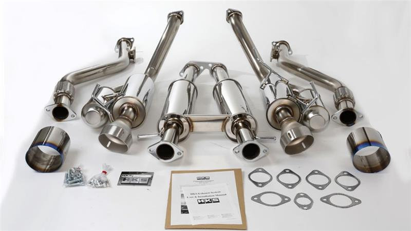 370Z HKS Hi-Power Exhaust 09-15