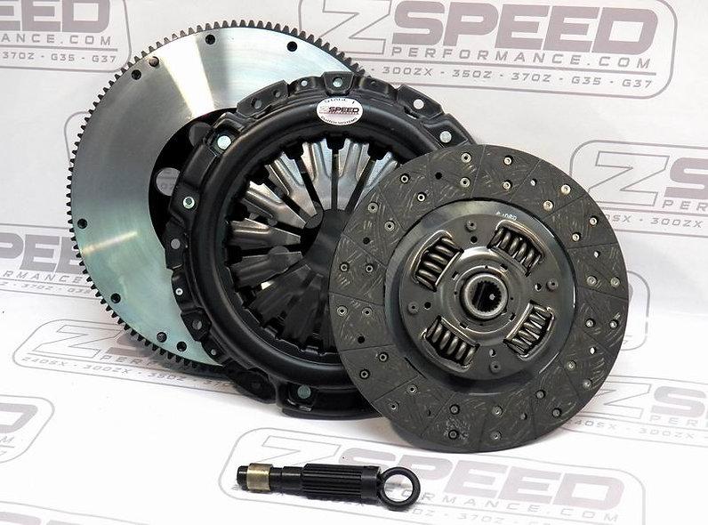 350Z 370Z G35S G37 ZSP Stage 1 Street (QUIET) Clutch & Flywheel