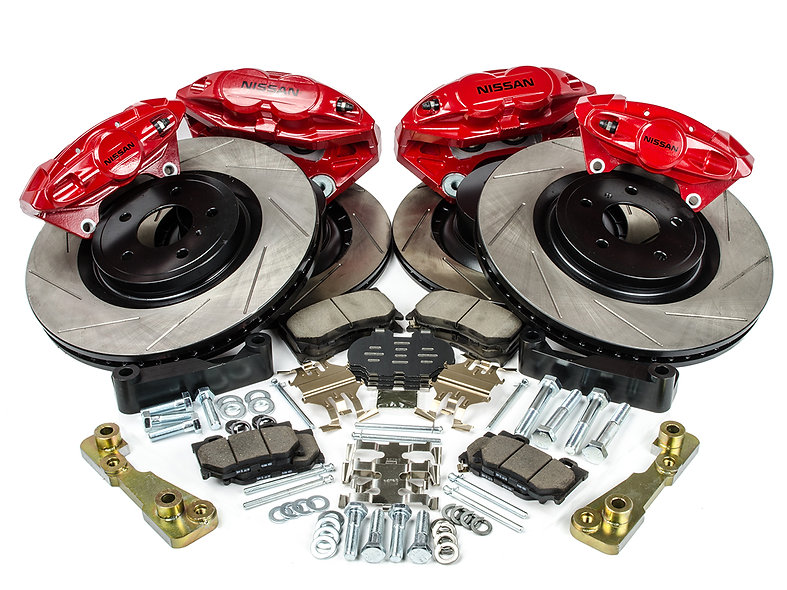 Z1 Motorsports 14'' Akebono Big Brake Kit (300ZX Front & Rear