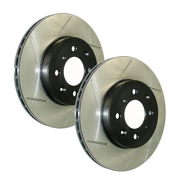 370Z STOP TECH SLOTTED ROTORS (FRONT BASE MODEL)