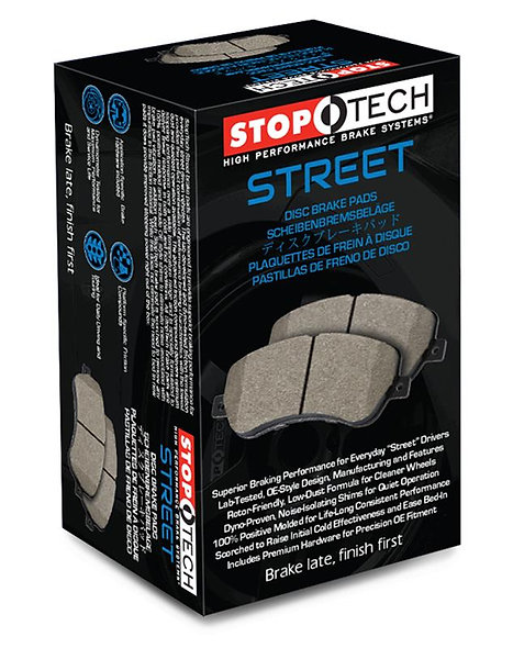350z/370z (base) STOP TECH -STREET Pads (rear)