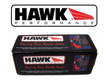 350Z G35 G35X: Hawk Performance HP+ Front Brake Pads HB268N.665