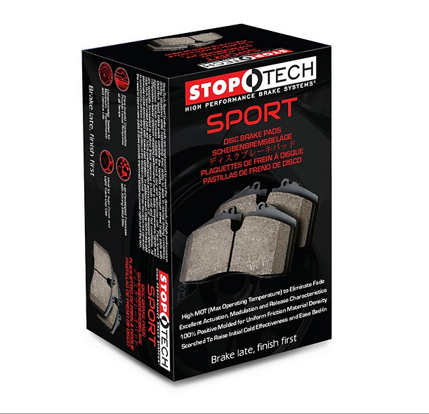 350Z G35 03-05 StopTech Front Brake Pads - Street Performance