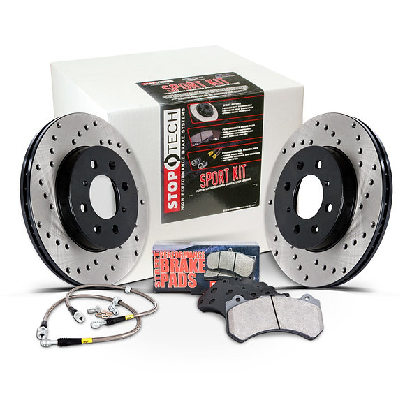 Stop Tech Sport Brake Upgrade Rotors, Pads, Lines Brembo