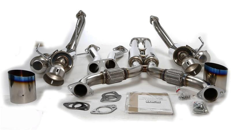 350z HKS Hi-Power Exhaust
