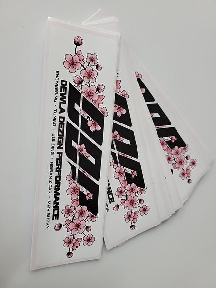 DDP Cherry Blossom Slap Stickers