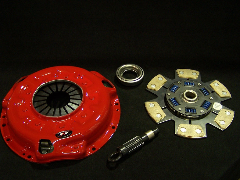 """Stage 2 """"DRAG"""" Modified HD pressure plate with a 6 puck, ceramic clutch disc."""