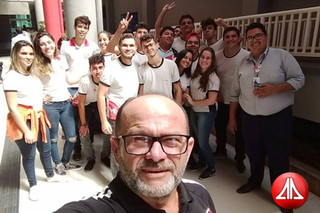 Os alunos da 3ª série do Ensino Médio participaram de uma visita à DeVry Fanor