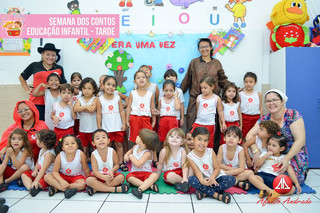 Na última semana de Março, as crianças da Educação Infantil puderam apreciar um pouco mais sobre a e