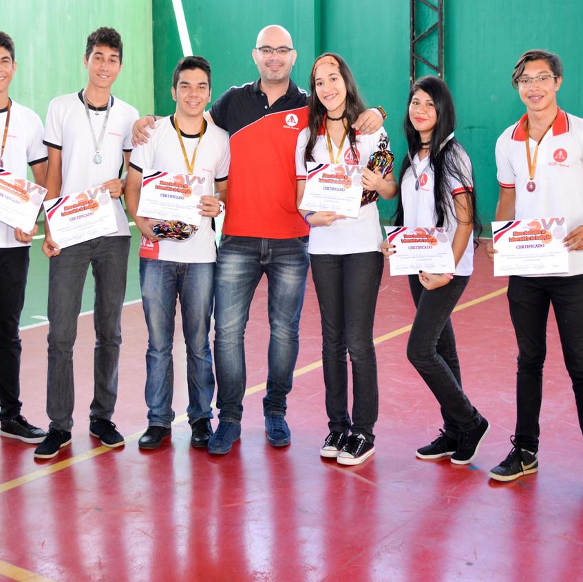 LAB .RED ENTREGA CERTIFICADO E MEDALHA 64