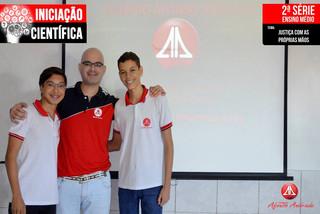 O Colégio Afonso Andrade parabeniza a todos os alunos que se dedicaram.
