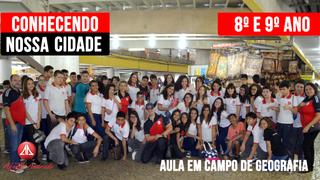 AULA EM CAMPO - PROJETO: CONHECENDO NOSSA CIDADE – 8º e 9º ano do Ensino Fundamental II