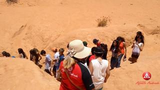 Aula em Campo de Geografia para Fortim, Canoa Quebrada e Aracati