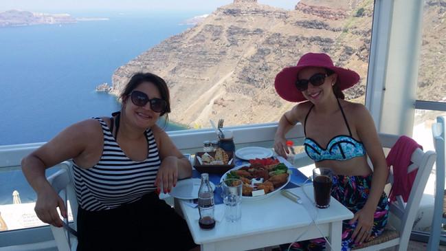 Mama Thira Tavern, Firostefani, Santorini, Greece