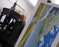 Colin-Moore-in-his-Studio