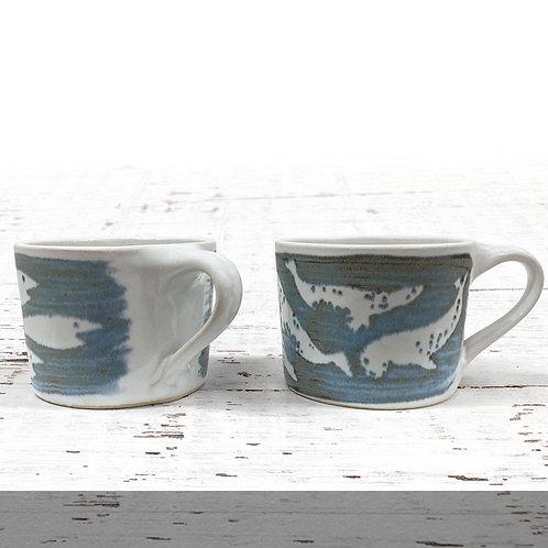 Neil Tregear Two Espresso Mugs