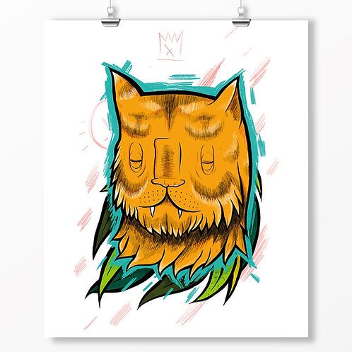 Kieran Page Sumatran Tiger A1 Print