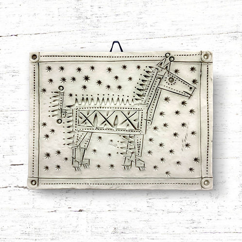 Cathy D'Arcy Robot Horse Tile
