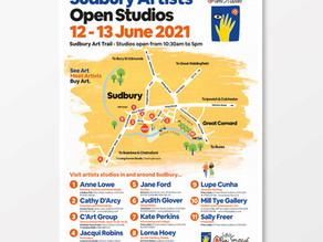 Suffolk Open Studios are back! Ten Sudbury artists open their studios in June.