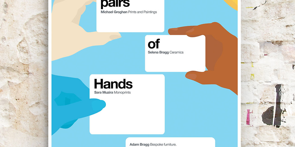Five pairs of Hands
