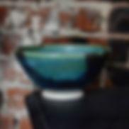 Deep-green-and-speckle-blue-glaze-vase.j