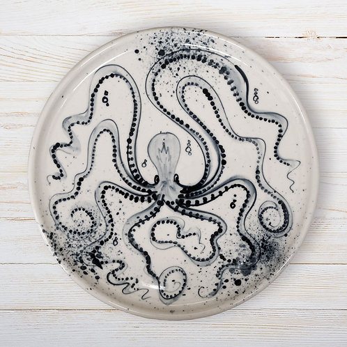 Octopus Large Plate