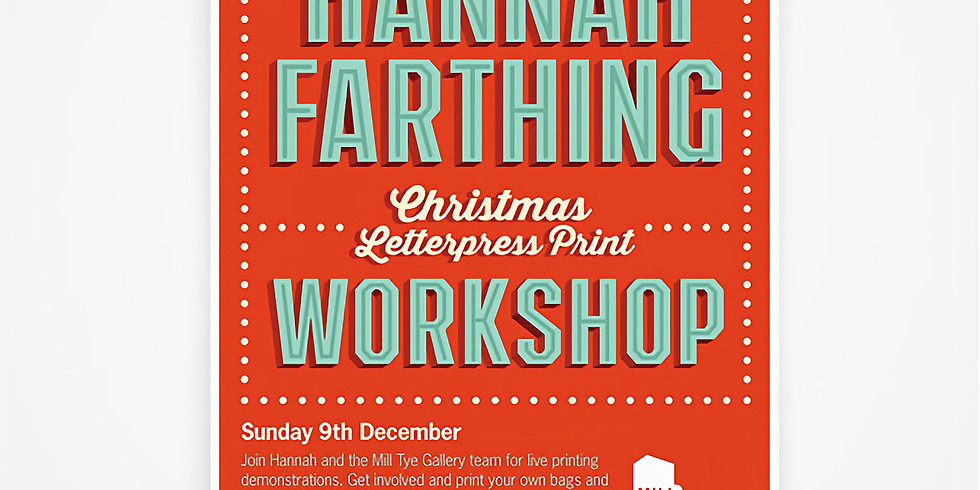 Hannah Farthing Christmas Print Workshop