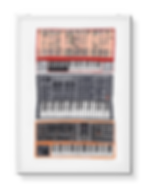 Hannah-Forward-Synthesizers-Framed-Print