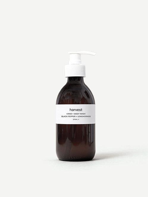 Harvest Black Pepper & Lemongrass Hand & Body Wash