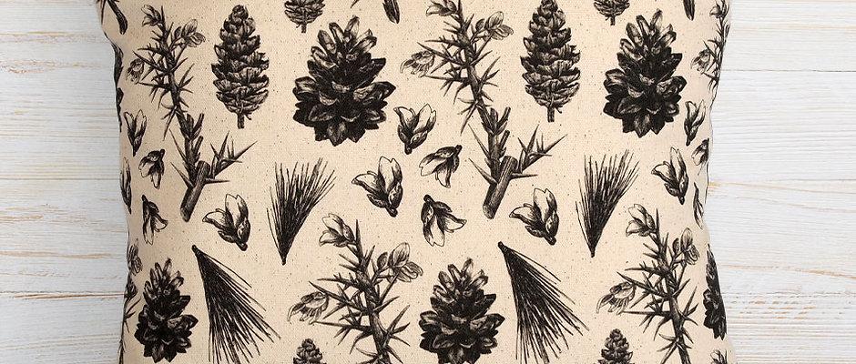'BLACK & WHITE' Cushion Cover 45cm x 45cm